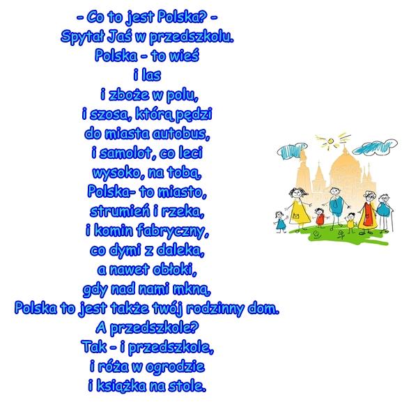 Wiersz Pt Co To Jest Polska Autor Cz Janczarski