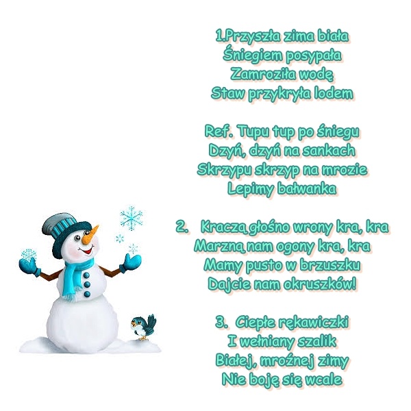 Piosenka Pt Tupu Tupu Po śniegu Muz I Sł A Galica