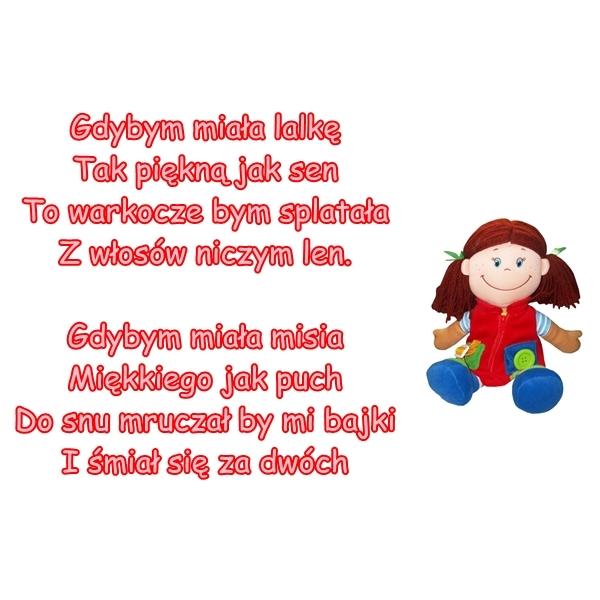 Wiersz Pt Mała Zabawka Autor Nieznany