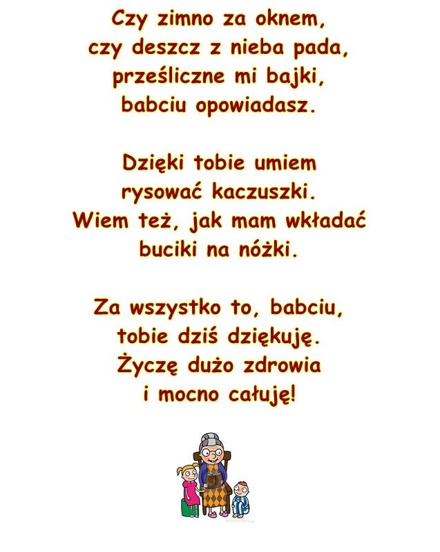 Wiersz Pt Moja Babcia B Szelągowskiej