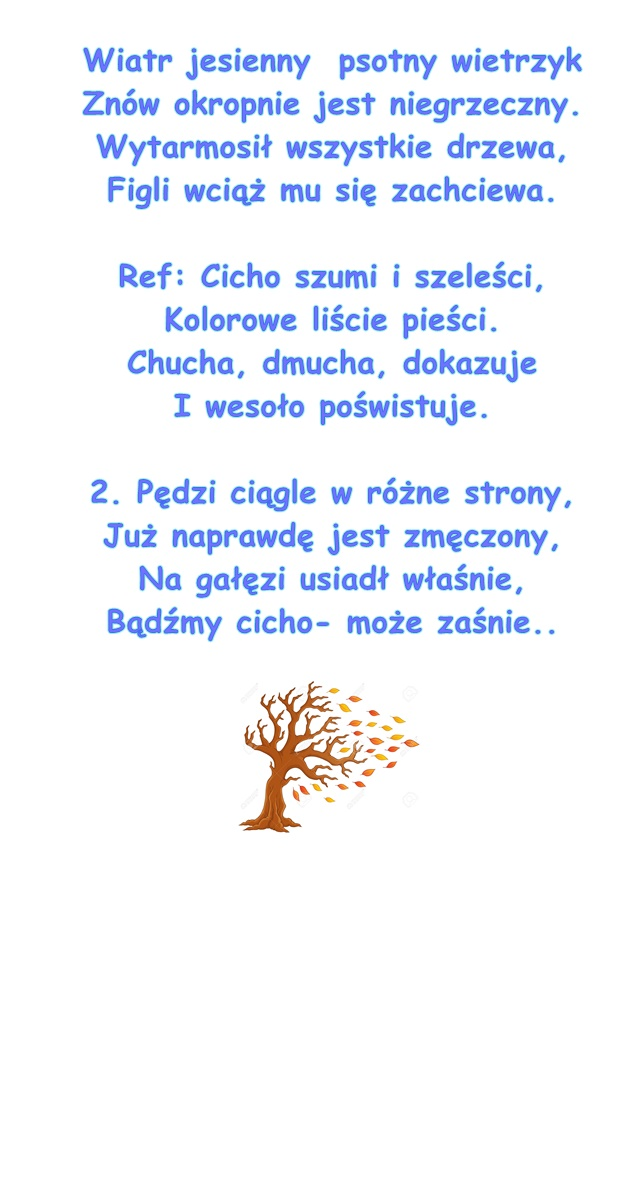 Piosenka Pt Wiatr Jesienny Muzyka A Skorupka Słowa E