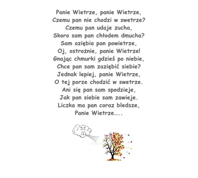 Wiersz Pt Panie Wietrze Ludwik Jerzy Kern