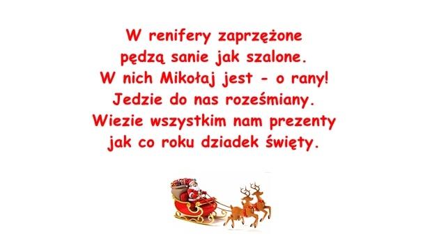 Wiersz Pt Mikołaj M Frączak