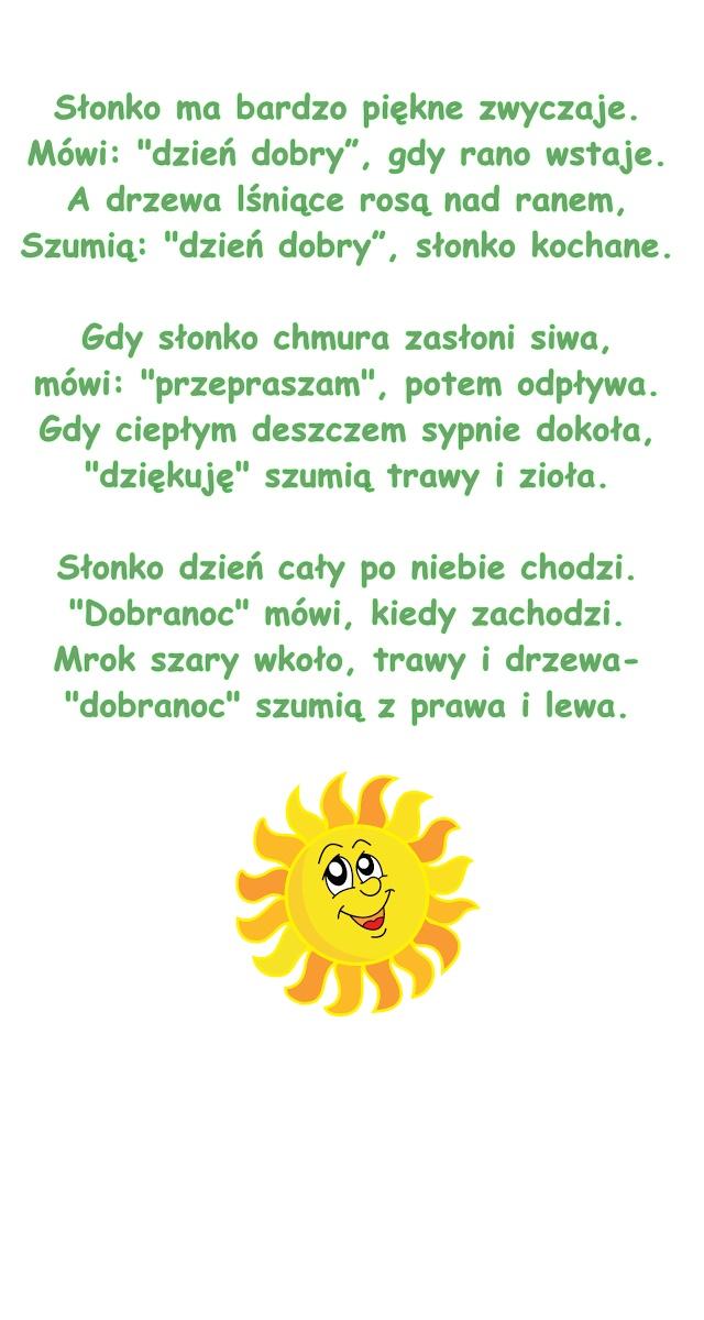 Wiersz Pt Piękne Zwyczaje Cz Janczarski