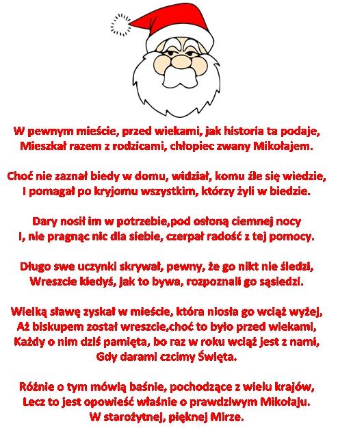 Wiersz Pt Jak To Było Z Mikołajem M Brykczyński